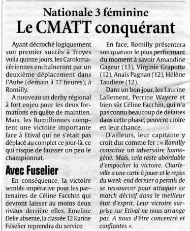 data/2010/multimedia/presse/04/Nationale 3  Féminines - Le CMATT conquérant.jpg