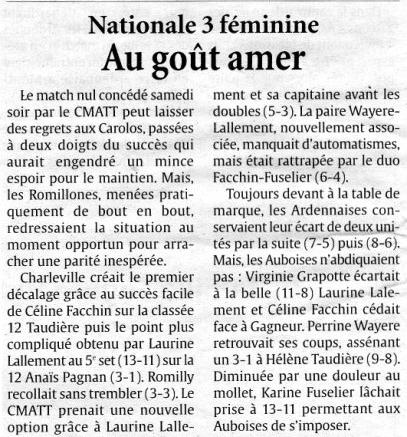 data/2010/multimedia/presse/04/Nationale 3 Féminines - Au goût amer.jpg